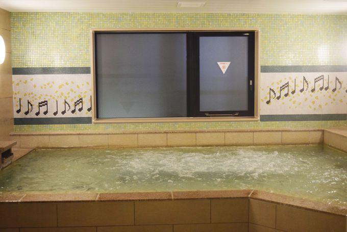 大浴場で体のびのび!