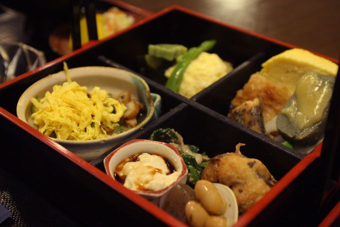 京都らしい季節ものが盛りだくさんな今熊野弁当