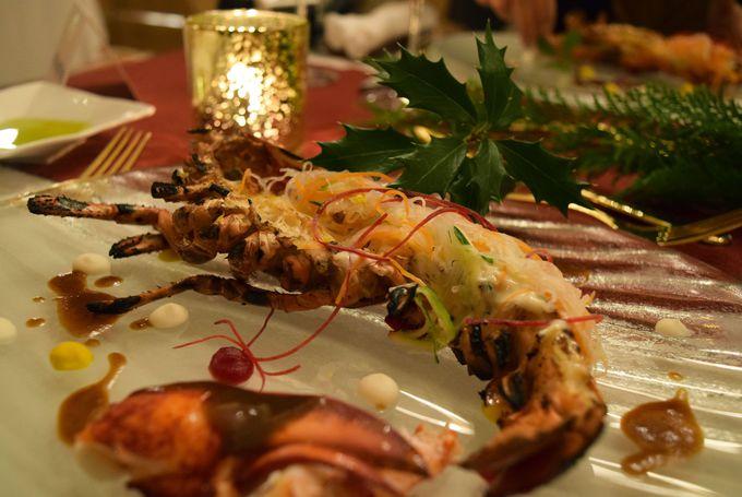 クリスマスディナーは特別コース!