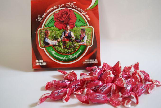 バラマキ土産に最適!ローズキャンディー