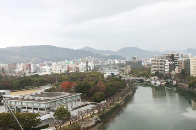 平和記念公園を望む絶好のロケーション!ホテルサンルート広島はお好み村も徒歩圏内!