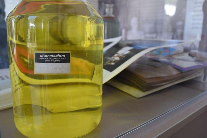 1947年に製造されたローズオイルの香り
