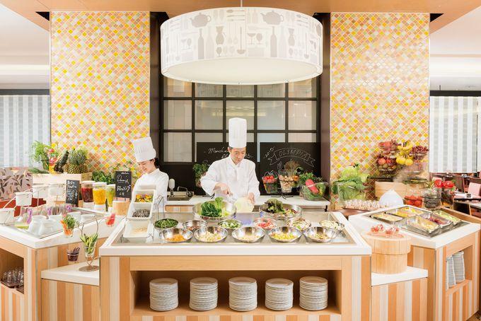 大阪新阪急ホテル「オリンピア」のビュッフェ