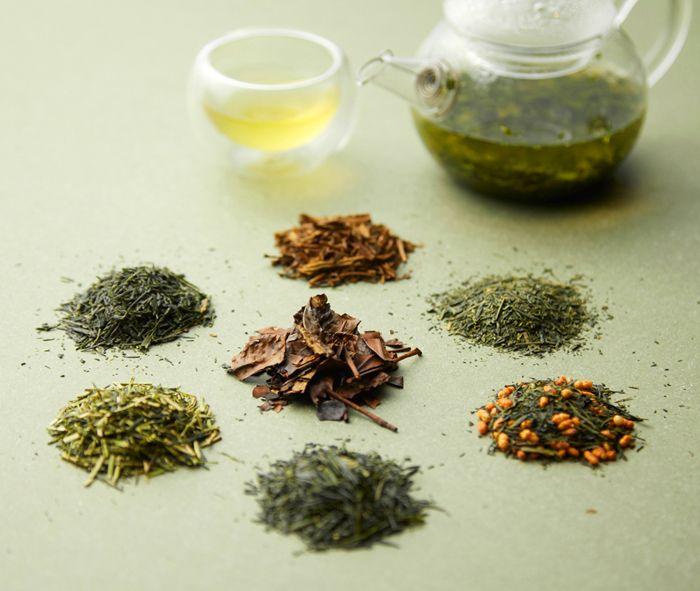 7種類の宇治茶を飲み比べできる