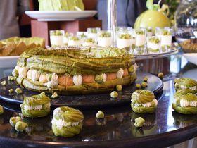 抹茶マニアが歓喜するグリーンの世界!ハイアットリージェンシー大阪「抹茶マニア リターンズ」|大阪府|トラベルjp<たびねす>