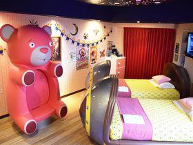 ミニオンと泊まれる!ホテル ユニバーサル ポート「ミニオンルーム 2 〜アグネスたちのお部屋〜」