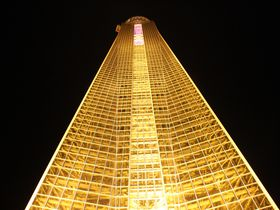 関門海峡の夕焼け・夜景を一望!山口・海峡ゆめタワー