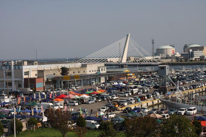 駐車場やバスなどのアクセス方法