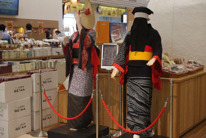 秋田の代表的な祭りや行事の展示