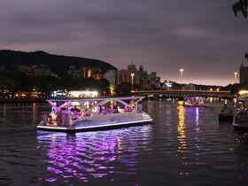 ワンコインでリバーナイトクルーズができる台湾・高雄「愛之船」