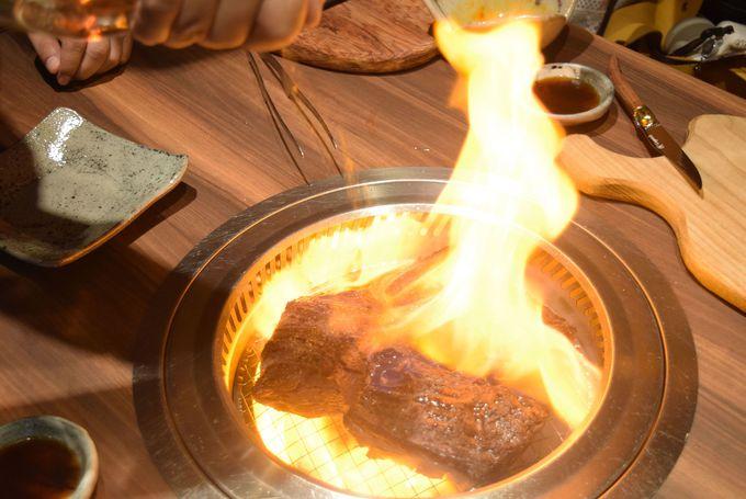北新地はらみのハラミステーキはなぜおいしい?