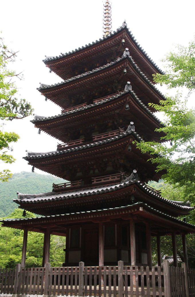 鎌倉時代の傑作・五重塔