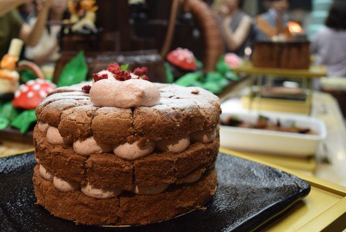 フォトジェニックなチョコレートケーキたち