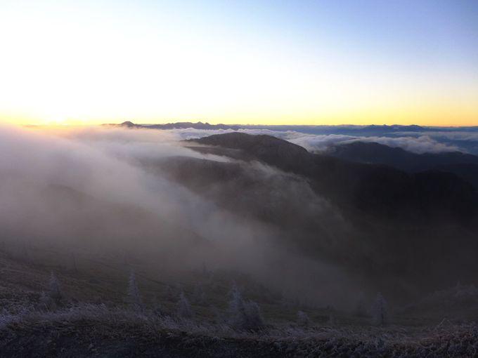 幻想的な朝の風景!
