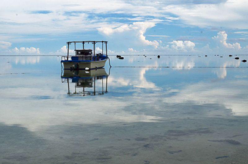 夢か幻か?空と海の境界線が消えた!石垣島で絶景と地元素材のスイーツを堪能しよう