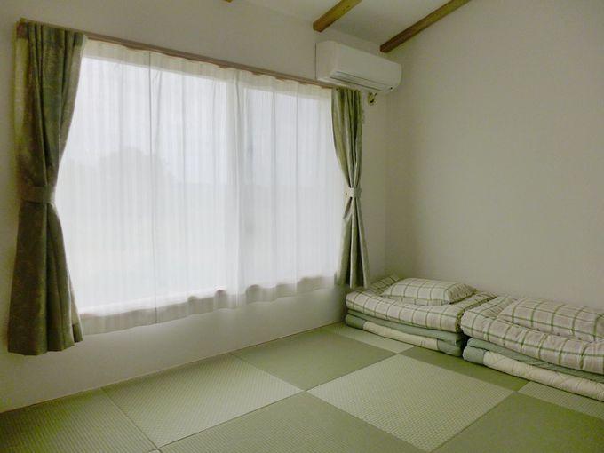 琉球畳の和室です