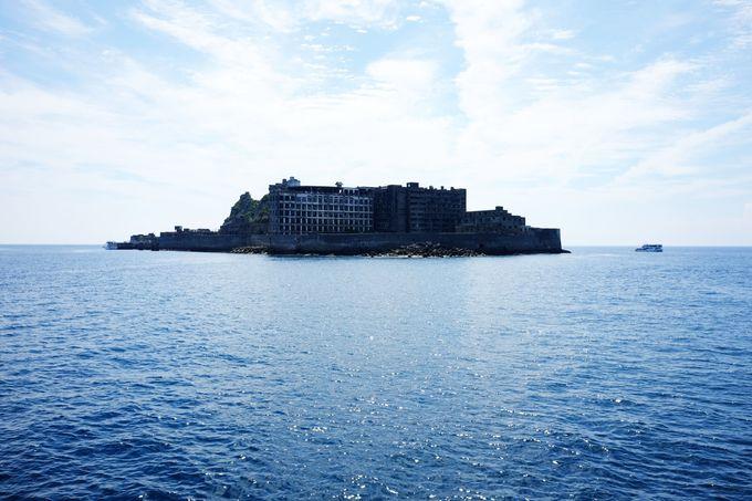 人口密度世界一の「軍艦島」