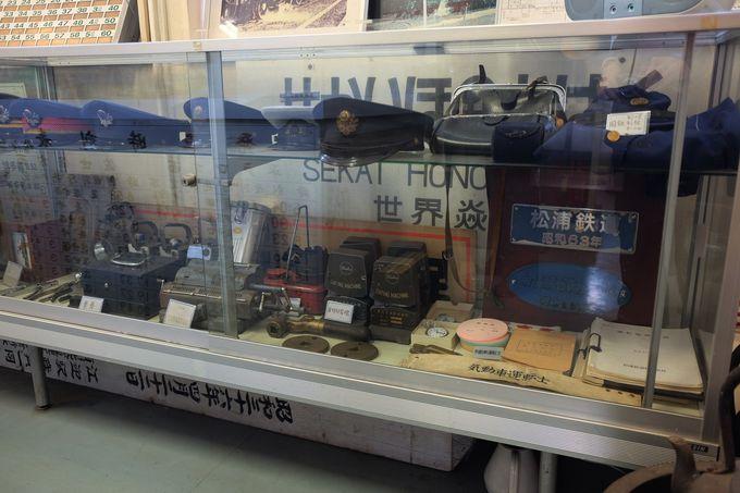 小さな鉄道博物館は入場無料!
