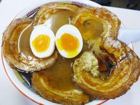 数量限定で復刻!北海道旭川市・蜂屋のビッグな「炙りチャーシューメン」|北海道|トラベルjp<たびねす>