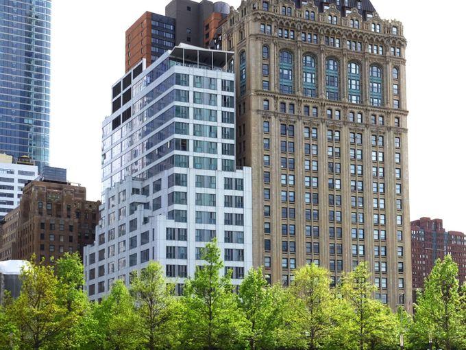 狭い土地を有効活用「ワールドセンターホテル」