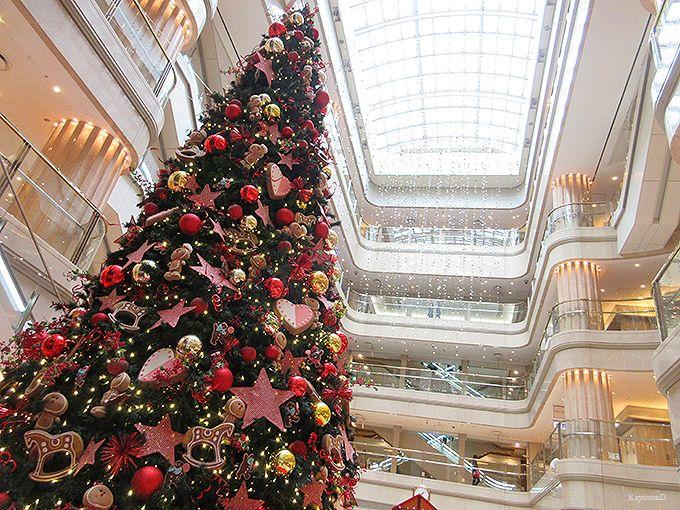 国内線第1旅客ターミナルのクリスマス装飾