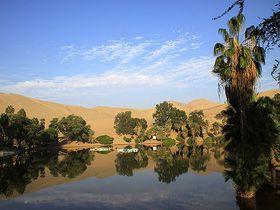 ぺルーの砂漠に湧き出るオアシス!リゾート地「ワカチナ」で秘境気分を味わおう