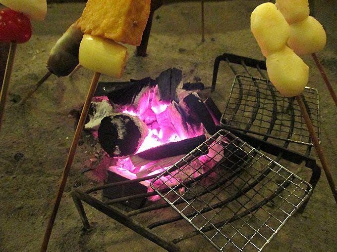 「本家伴久」の平家囲炉裏料理