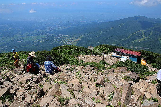 山頂からの360度の絶景