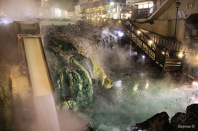 日本屈指の名湯が湧き出る草津温泉