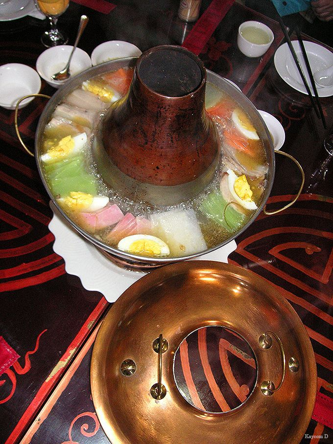 チベット伝統料理ギャコック鍋