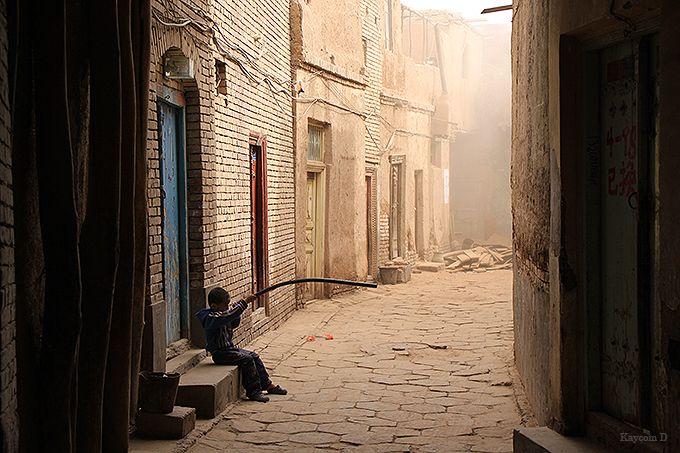 ウイグル民族だけが暮らす旧市街