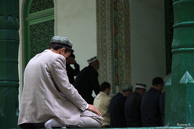 中国最大のエイティガールモスク