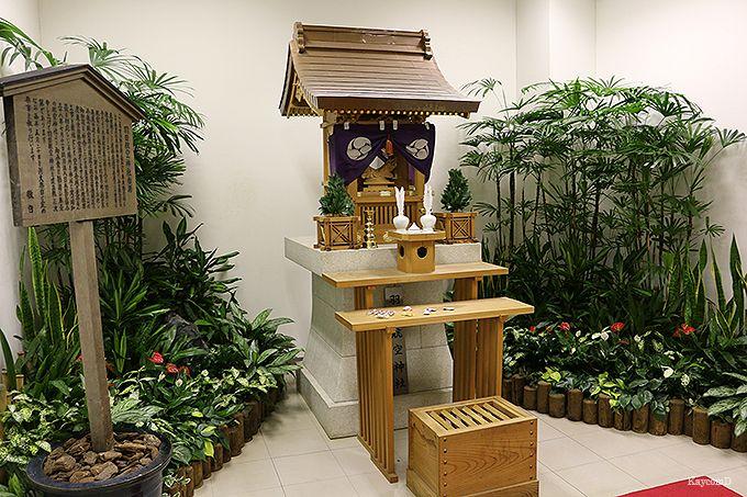 隠れたパワースポット羽田航空神社