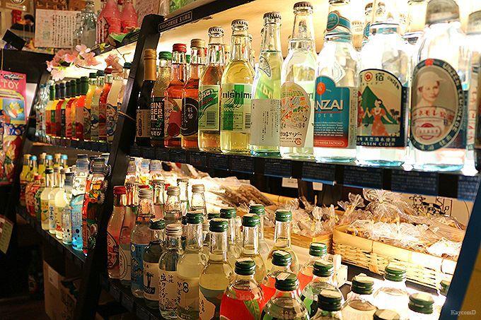 全国のご当地サイダーが飲める「玉川商店」