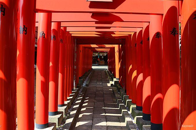 千本鳥居が美しい穴守稲荷神社