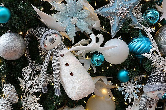 国内線第2旅客ターミナルのクリスマス装飾