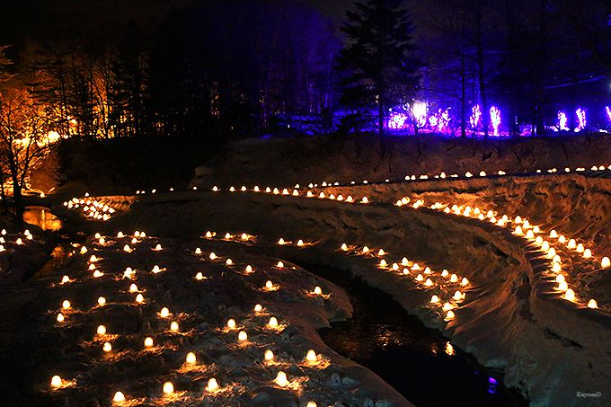 日本夜景遺産にも認定された幻想的な明かり