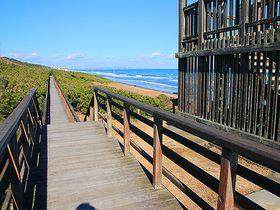 海沿いのボードウォークがすごい!茨城県「鹿島灘海浜公園」はオーシャンビューの絶景公園|茨城県|トラベルjp<たびねす>