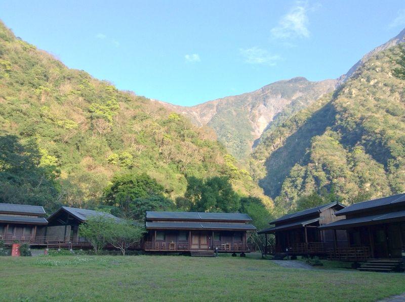美しい雄大な大自然の中のホテル!