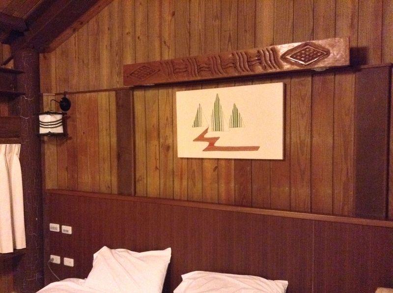 ログハウス型の客室!中はホテル仕様