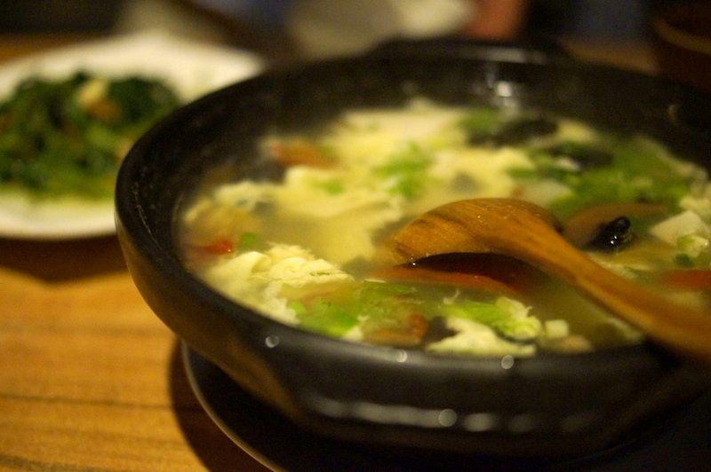 素朴な台湾料理は美味!