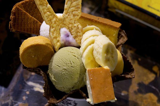 「第四信用合作社」は「宮原眼科」系列のアイスに特化したお店!