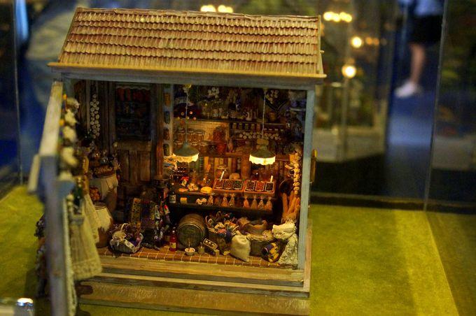 台北「袖珍博物館」のミニチュアコレクション