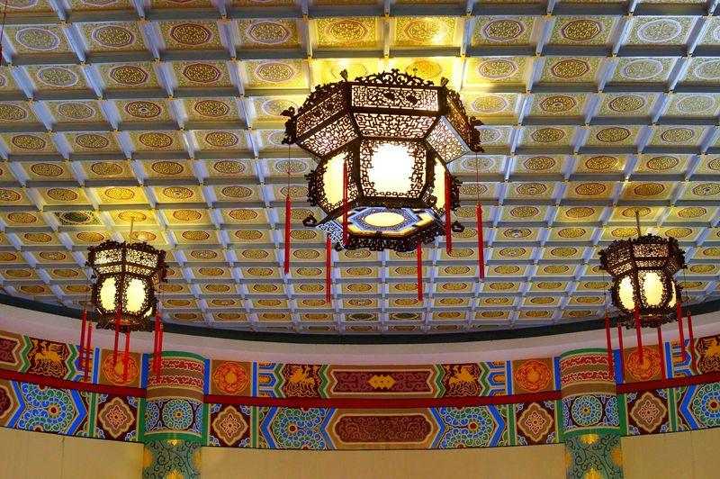 台湾・100元札の建物はこれ!台北「中山樓」の華麗な内部を見学