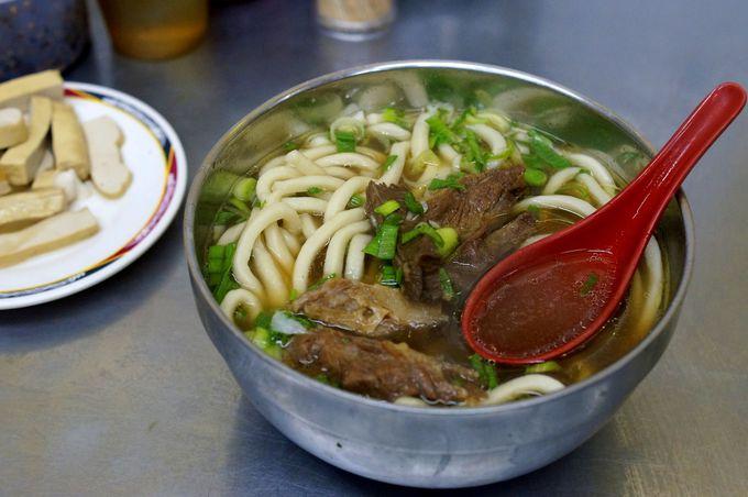 日曜日は定休日!台北駅そばの劉山東牛肉麺はおすすめ