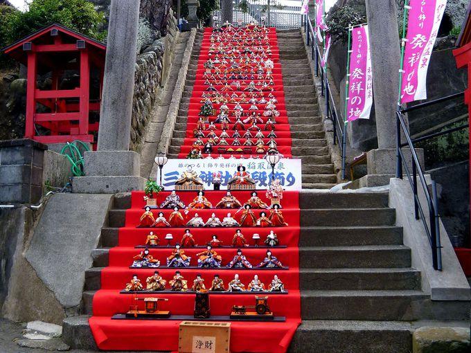 段数日本一!素盞嗚神社 雛段飾り