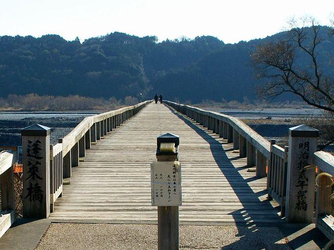 知っておきましょう!蓬莱橋の歴史