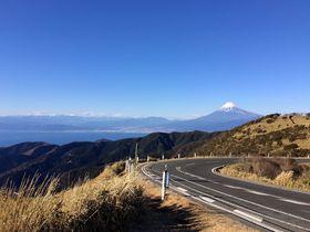 空と海と富士山の絶景!西伊豆スカイライン〜西天城高原 牧場の家