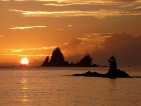3月と9月を狙え!日本一の夕陽スポット・西伊豆「大田子海岸」