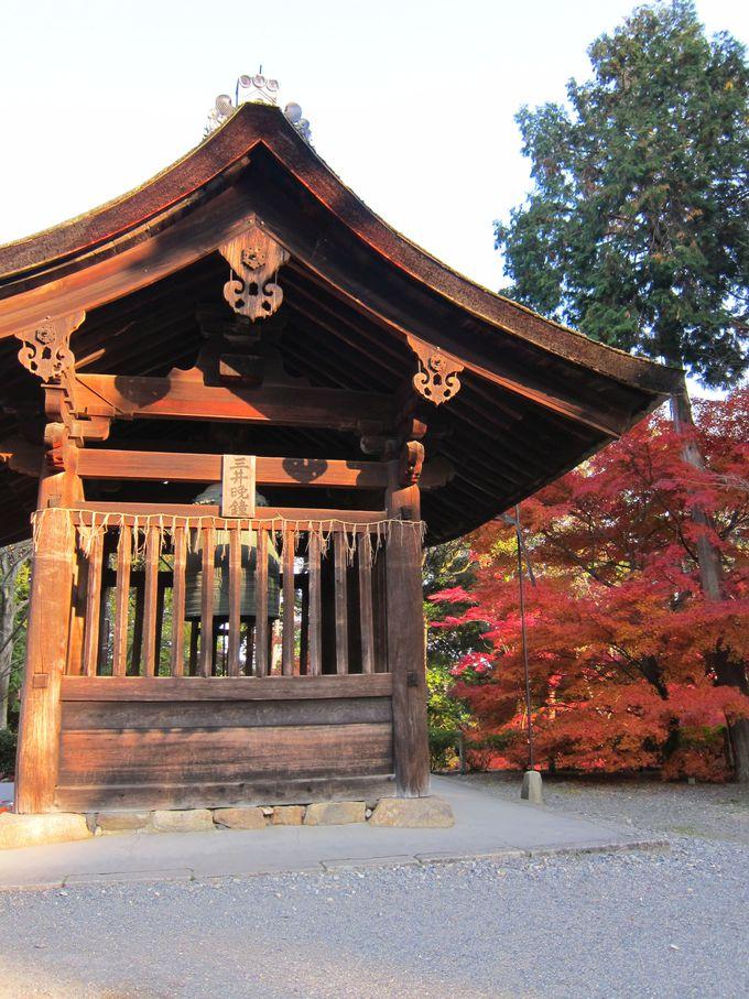 名宝だらけの三井寺、文化財の鐘を鳴らしてみよう